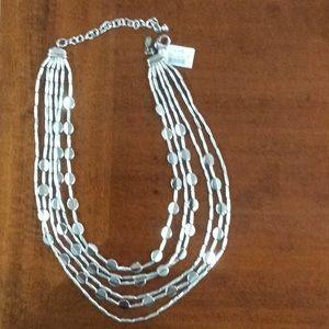 "Jewelry - Silver 16-20"" Multi-Strand Necklace"
